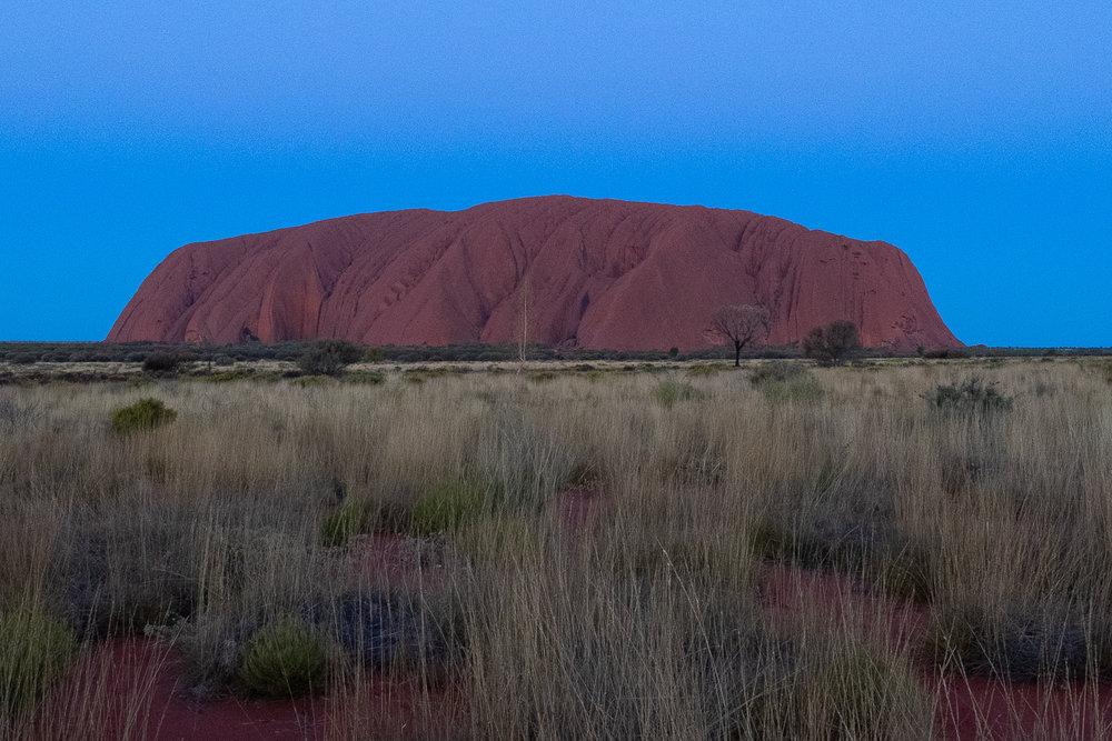 Uluru (Ayres Rock), Sunrise