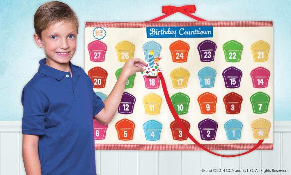 El calendario del cumpleañero