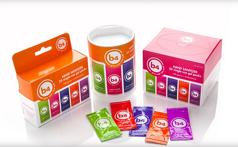 b4 product - Gel packs