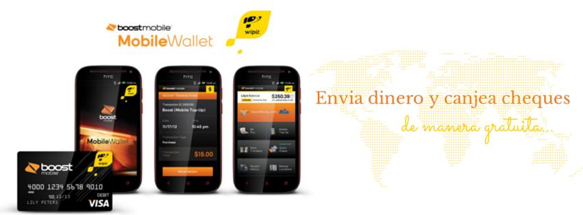 Por tiempo limitado Boost Mobile ofrece envios de dinero y canjeo de cheques gratuitos