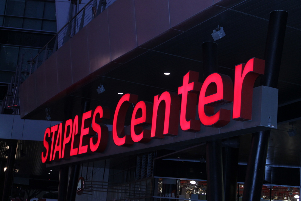 Staples Center was the venue where the concert was held.