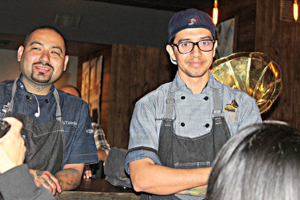 Chef Chris, Chef Charlie & Chef Salvador Carrillo rule the house