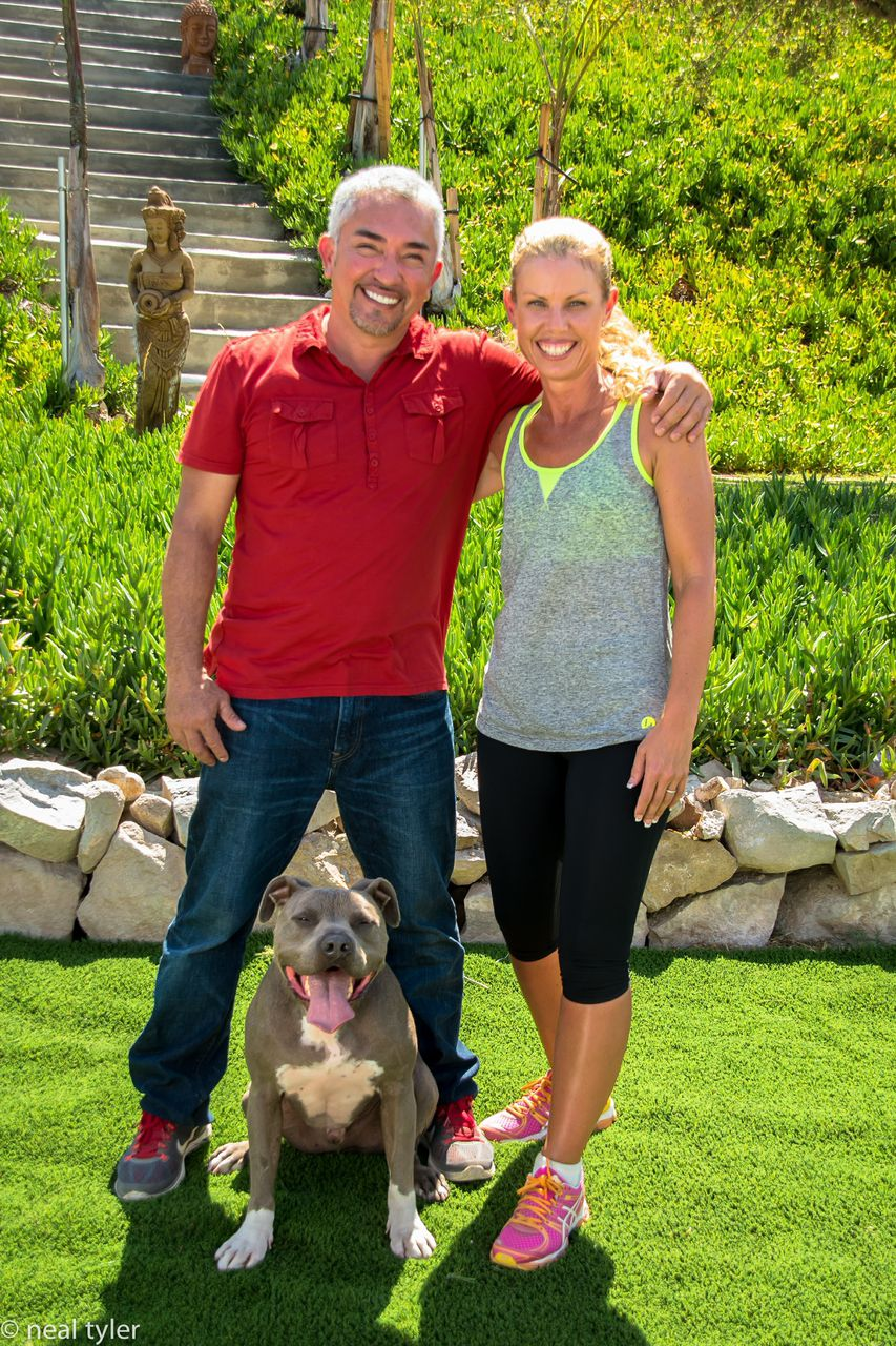 Cesar Millan and Jo