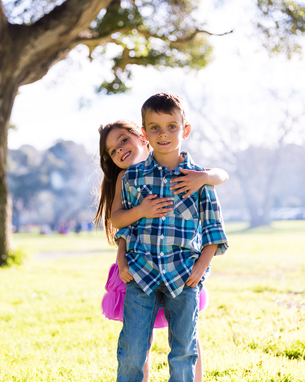 Real connections, and love with siblings make very strong images.