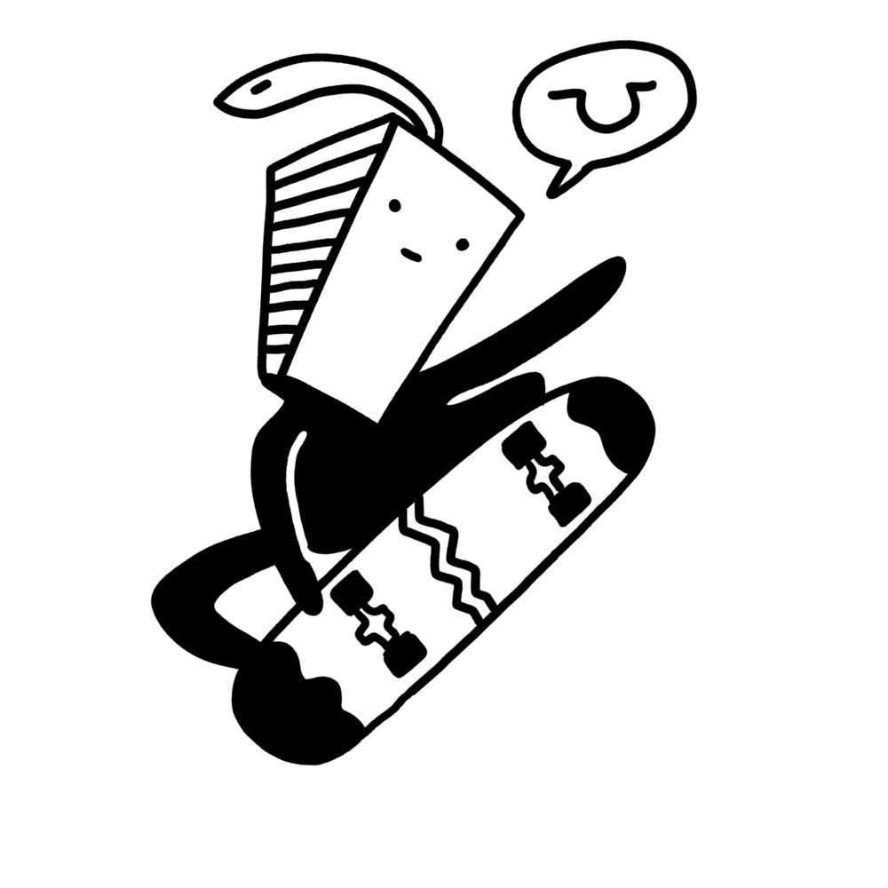Skateville - Foreign skateboarders