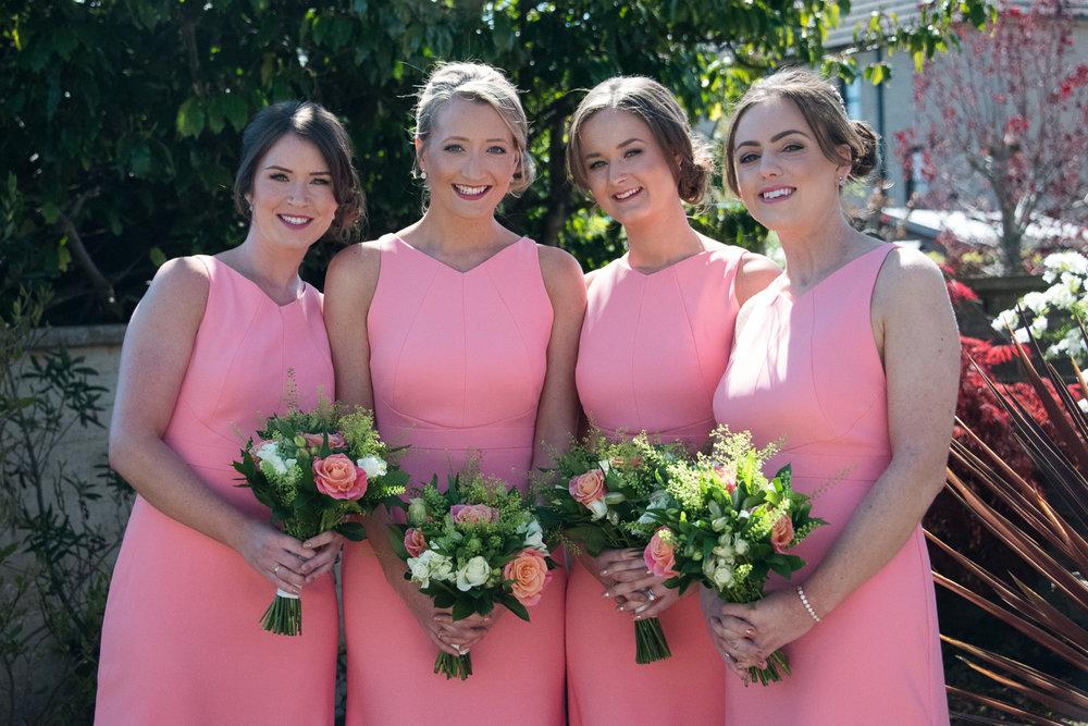 Wedding Photographer Edinburgh - Bridesmaids