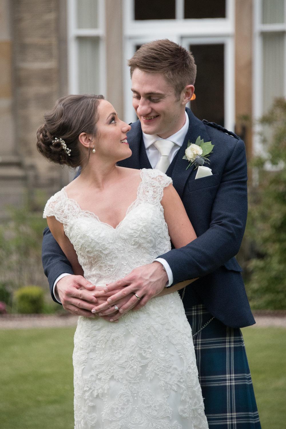 Wedding Photographer Edinburgh - Balbirnie
