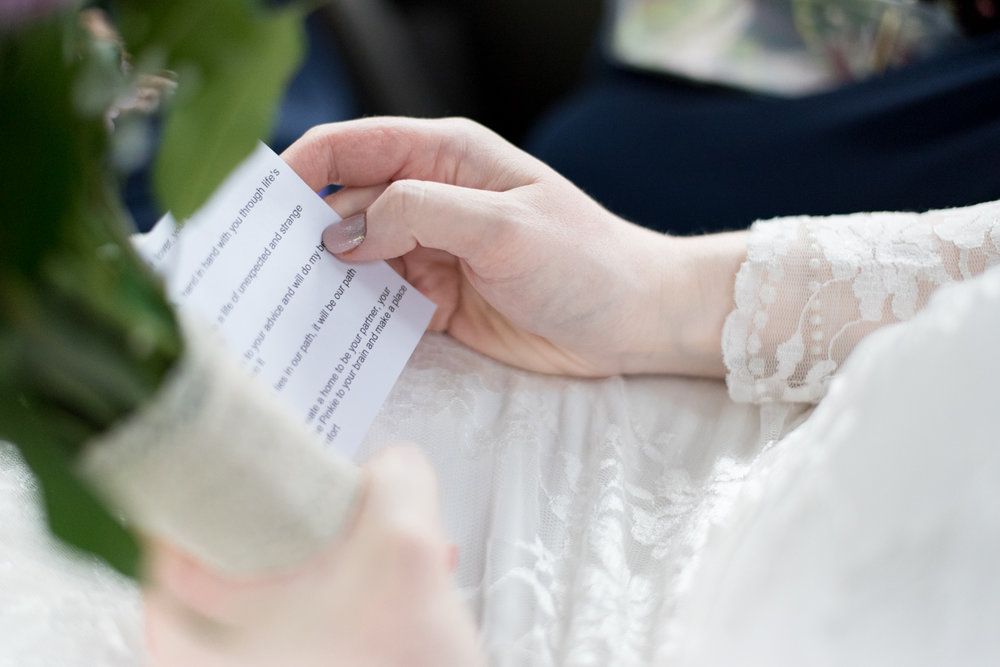 Wedding Photographer Edinburgh - Wedding Vows