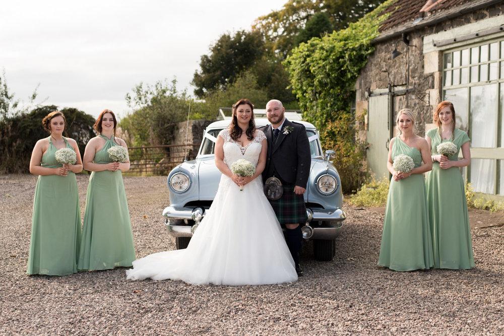Wedding Photographer Edinburgh - Pratis Farm