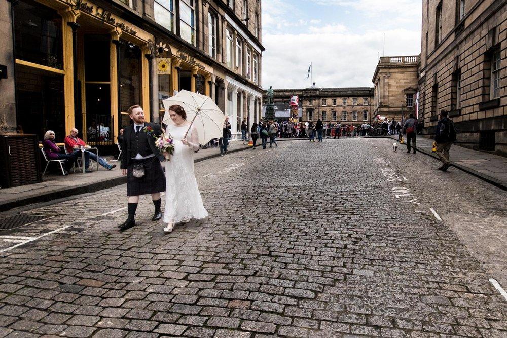 edinburgh photography - city chambers wedding