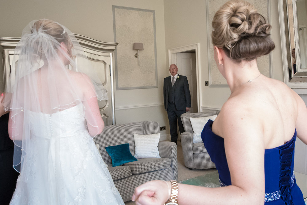 Weddings At Balbirnie House - father of the bride photo