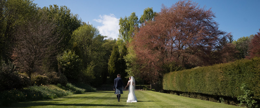 Weddings At Balbirnie House - the gardens