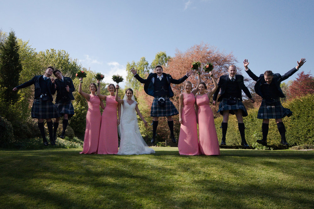 Weddings At Balbirnie House - group photographs