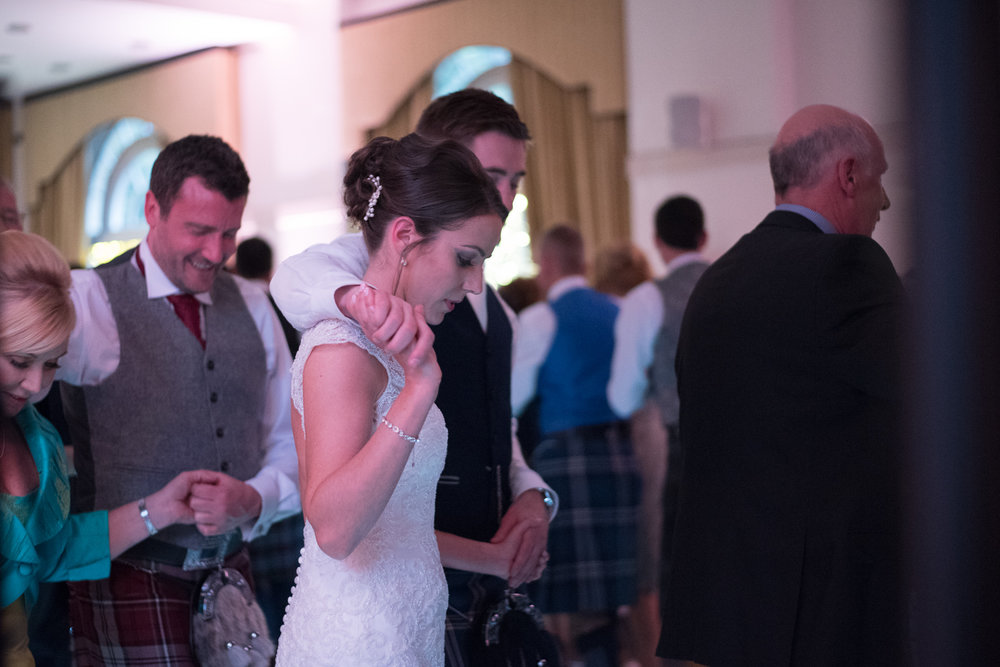 Weddings At Balbirnie House - ceilidh dance