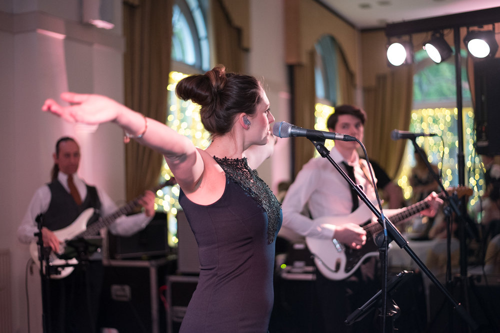 Weddings At Balbirnie House - the ballroom band
