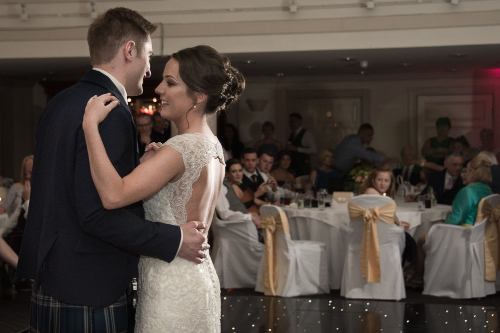 Weddings At Balbirnie House - the first dance