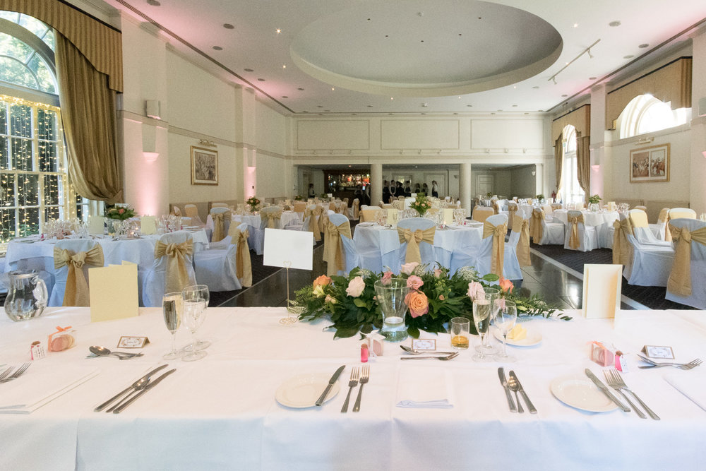 Weddings At Balbirnie House - the ballroom