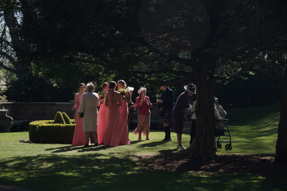 Weddings At Balbirnie House - bridesmaids