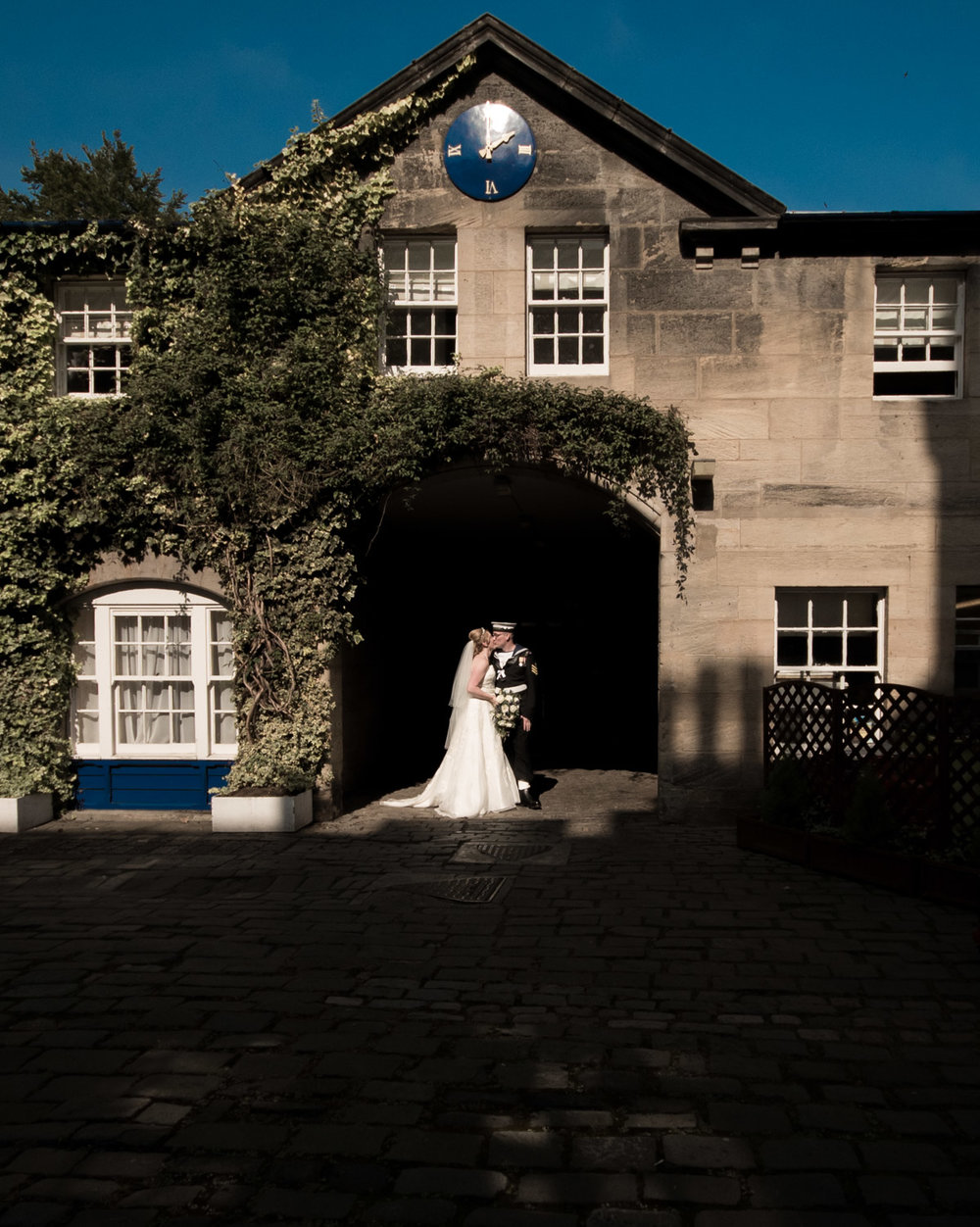 Weddings At Balbirnie House - the clock tower