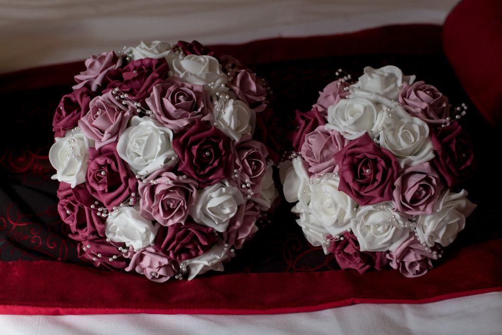 orocco pier wedding - flowers