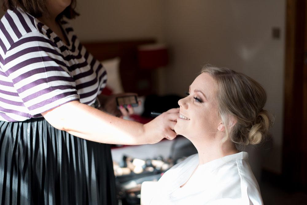 Make Up at Orocco Pier Wedding 02
