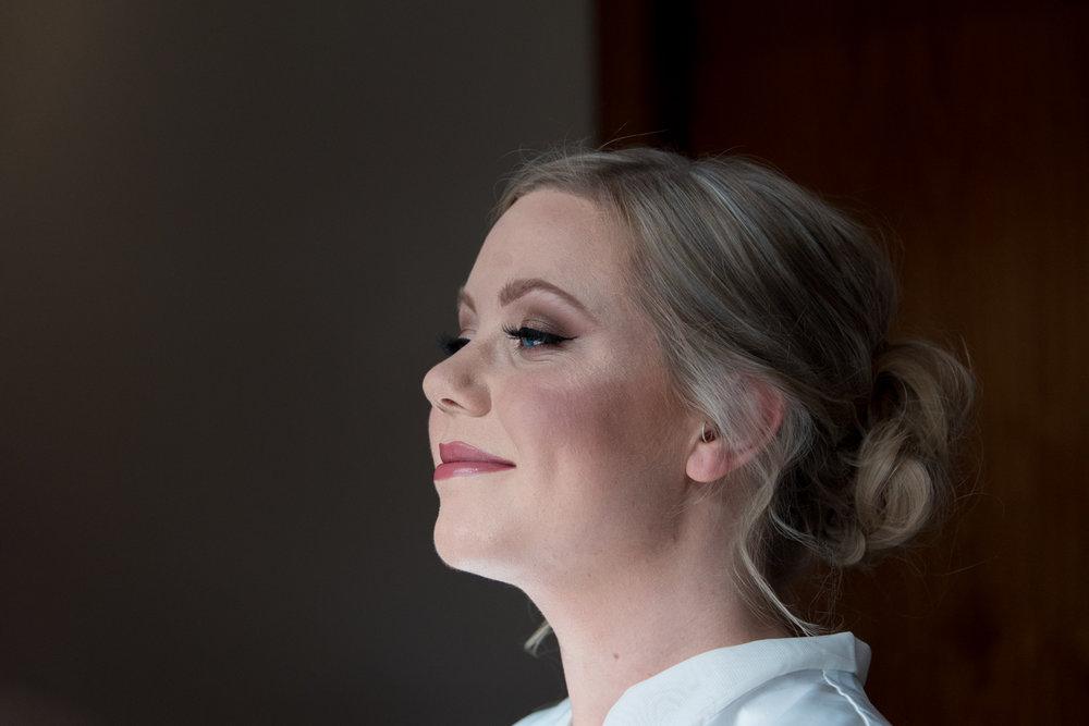 Make Up at Orocco Pier Wedding 03