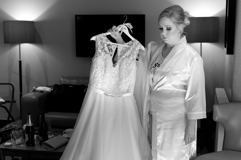 Orocco Pier Wedding - bride and dress