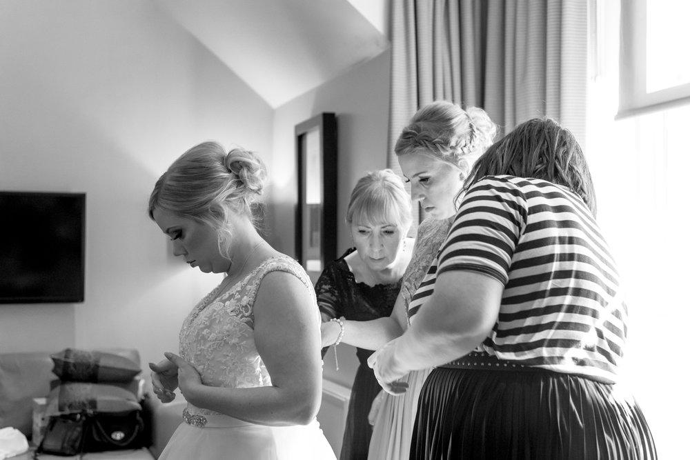 Orocco Pier Wedding - bride and dress 02