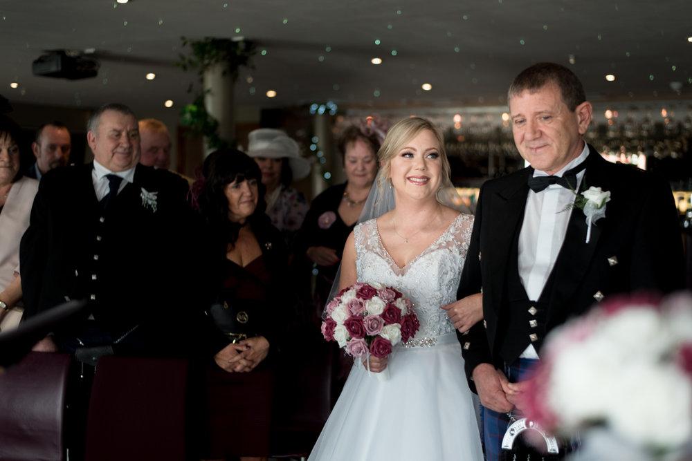 South Queensferry Orocco Pier Wedding - ceremony 02