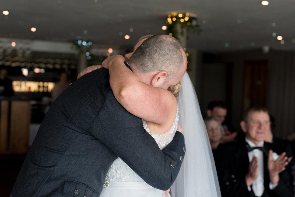 The Kiss, Orocco Pier Wedding 02