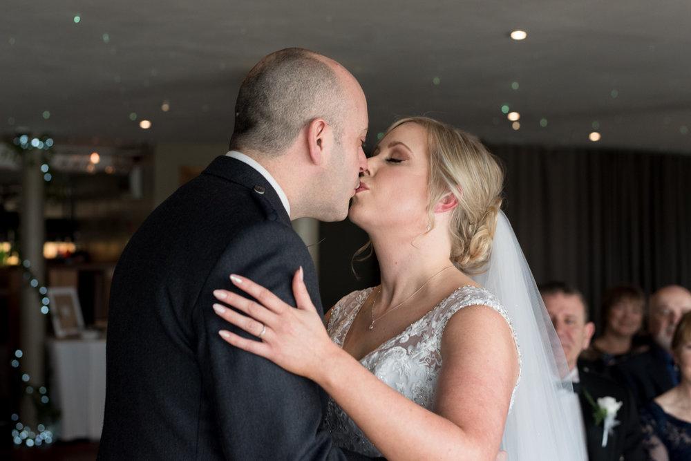 The Kiss, Orocco Pier Wedding