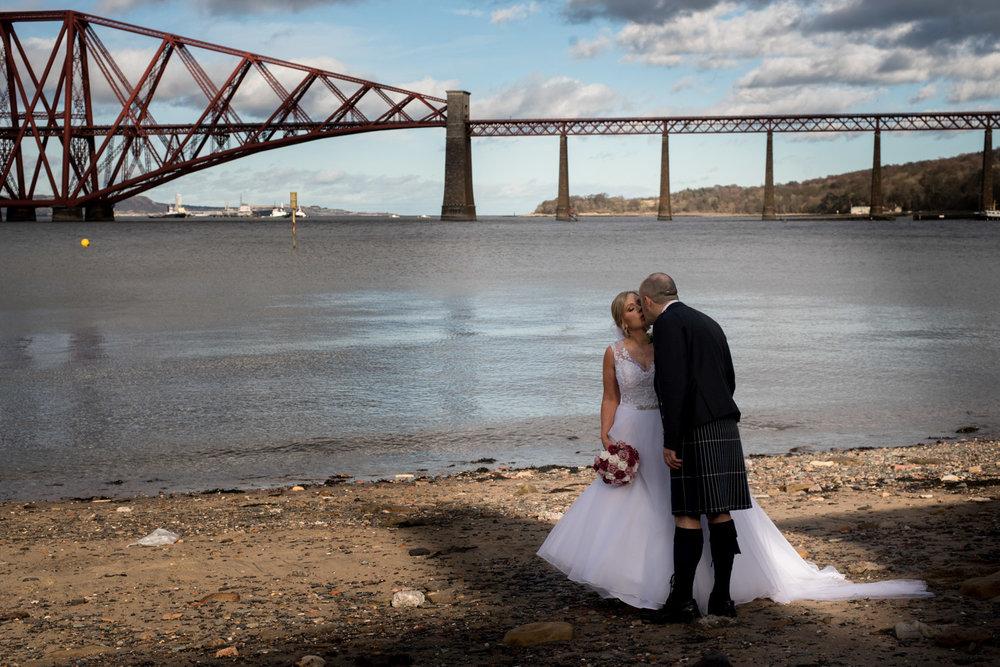 Orocco Pier Wedding - The Forth Bridge