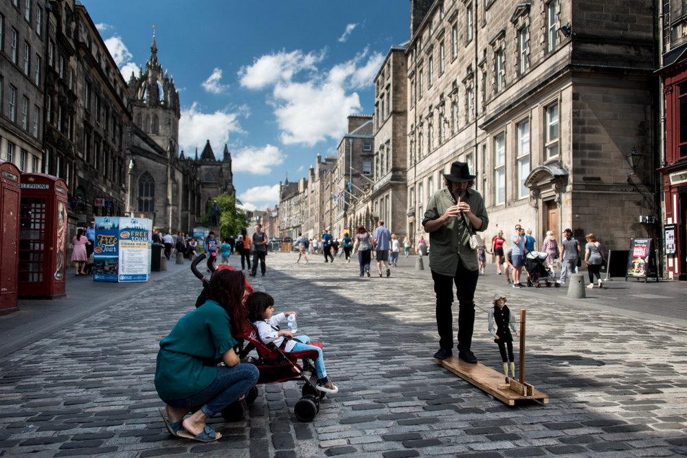 Edinburgh Photography - the Edinburgh Eestival