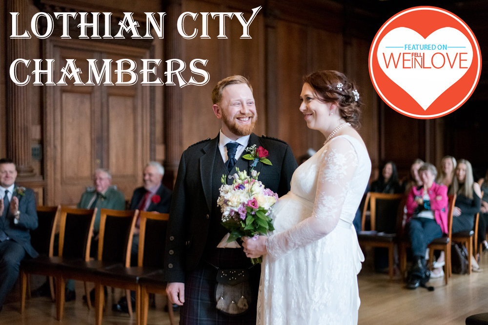 Lothian City Chambers Wedding Edinburgh
