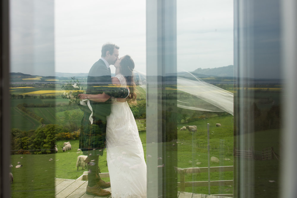 Guardswell Farm - Bride and Groom