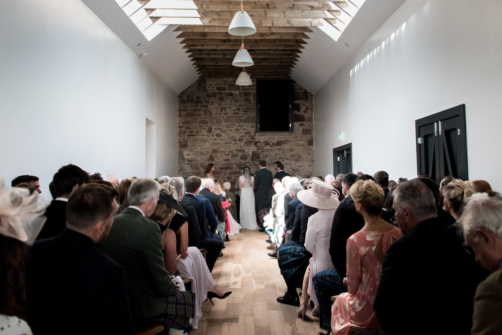 Guardswell Farm - Wedding in the granary 05