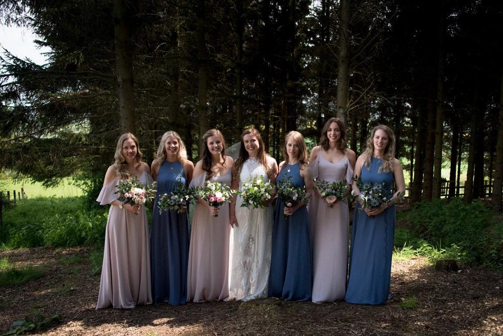 Guardswell Farm - The Bridesmaids