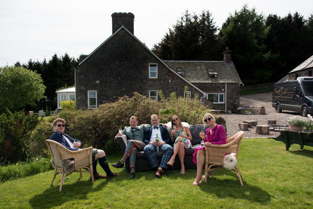 Guardswell Farm - wedding guests