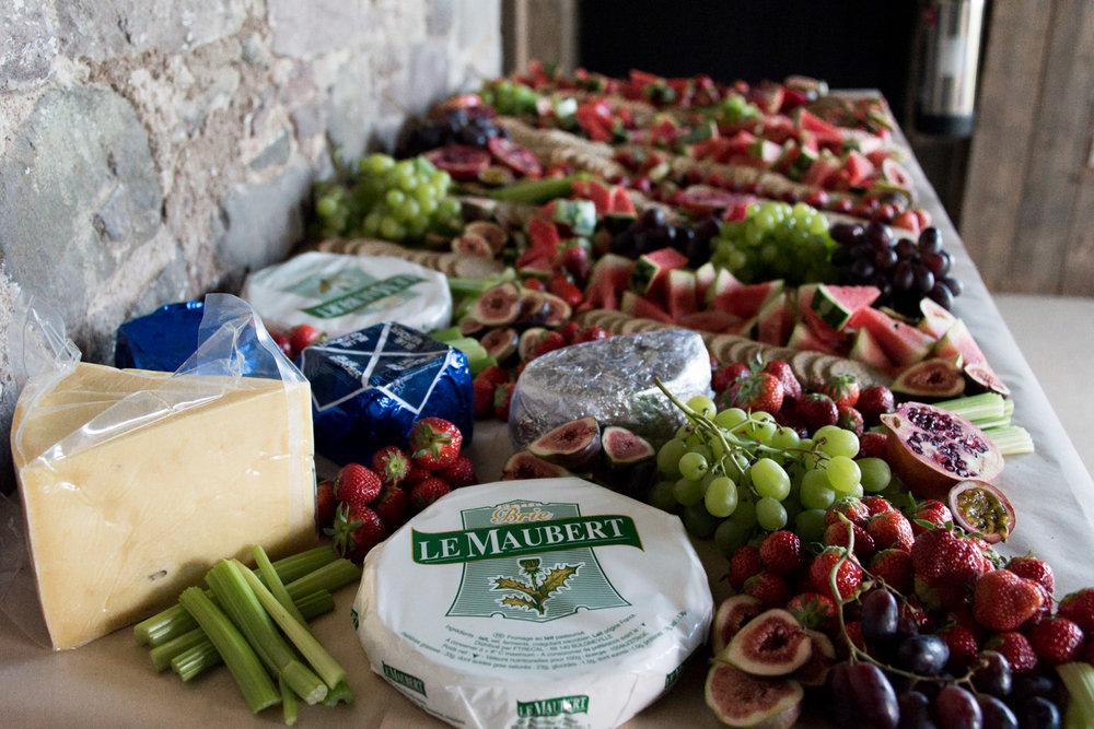 Guardswell Farm - wedding food
