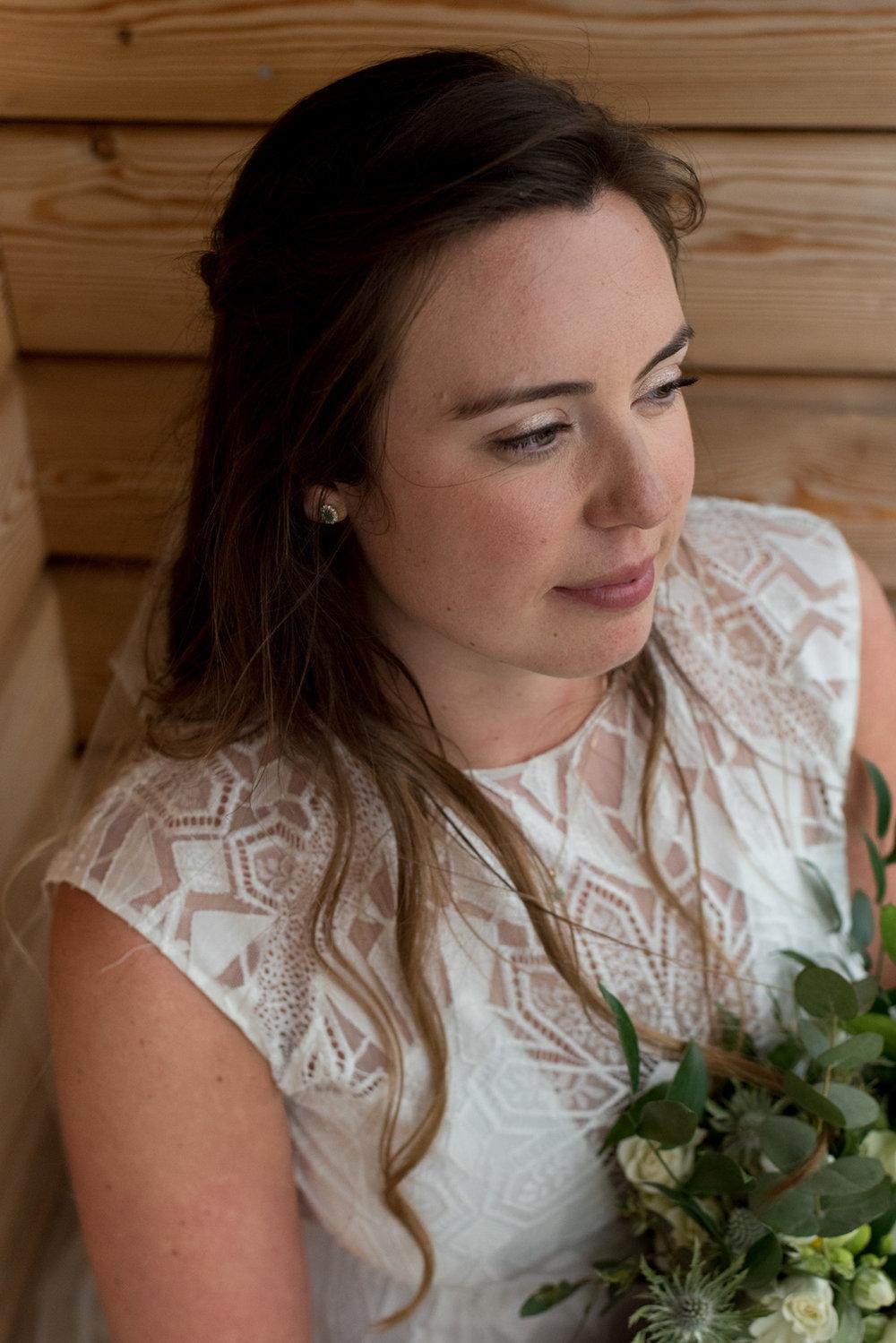 Guardswell Farm - Bridal Portrait