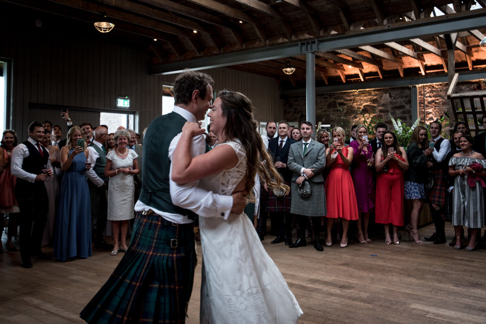 Guardswell Farm - first dance in the Cattle Court 04