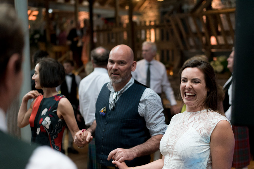 Guardswell Farm - ceilidh in the Cattle Court 02