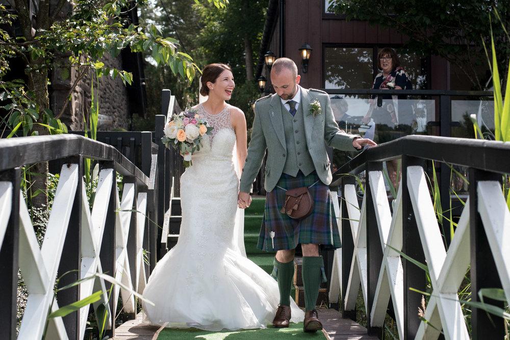 Documentary Wedding Photographer Edinburgh - Forbes of Kingennie