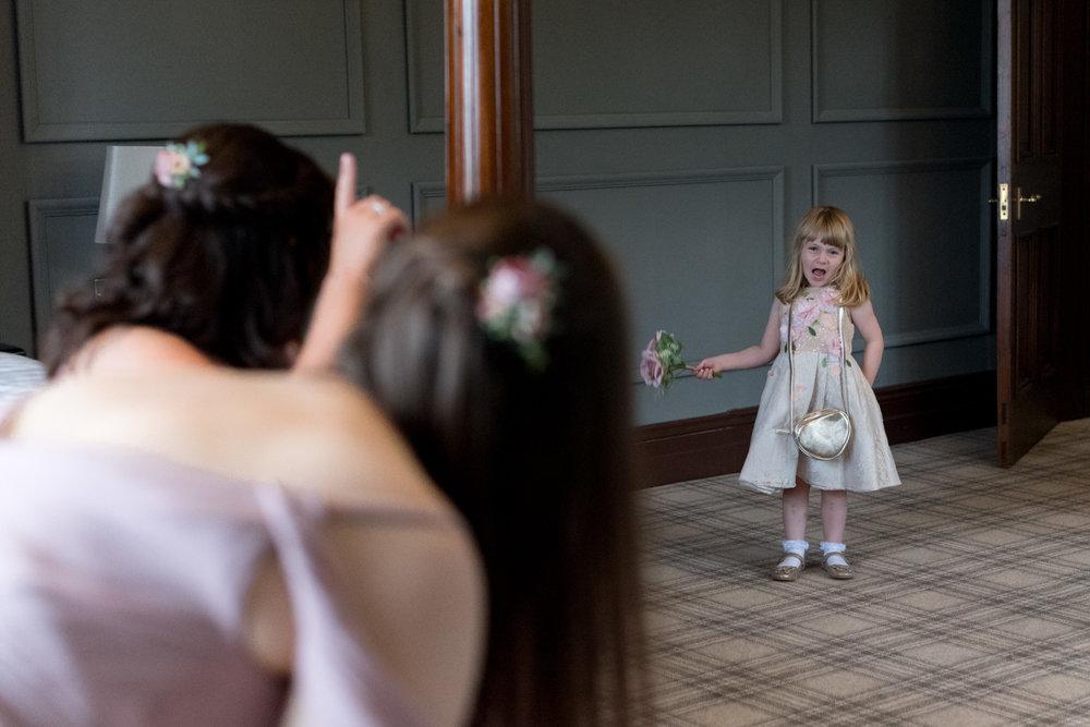 Documentary Wedding Photographer Edinburgh - Murrayshall Hotel, Perth