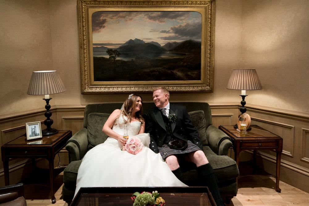 Documentary Wedding Photographer Edinburgh - Old Course Hotel Wedding
