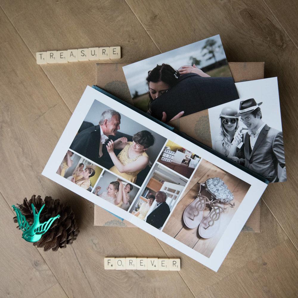 Documentary Wedding Photography - wedding albums