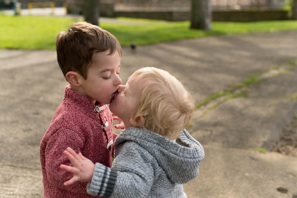 Edinburgh Family Photo Shoot - Brothers