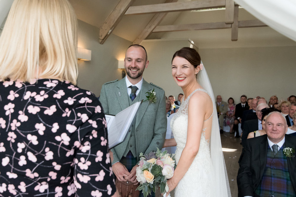The Wedding - Click on their happy faces and read about Kate and Sean's wedding :-)