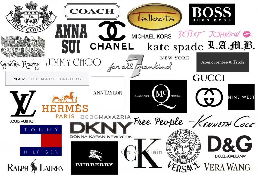 death of the logo kaye holland rh kayeholland com fashion logos with names clothing logos and names list