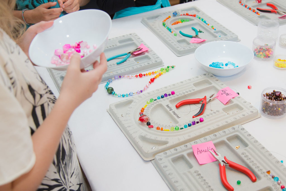 kids party ideas jewellery making pretty little things
